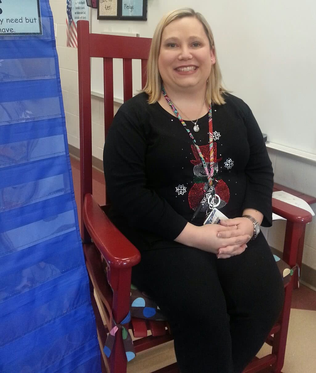 Ashley Angle, Jefferson City Teacher